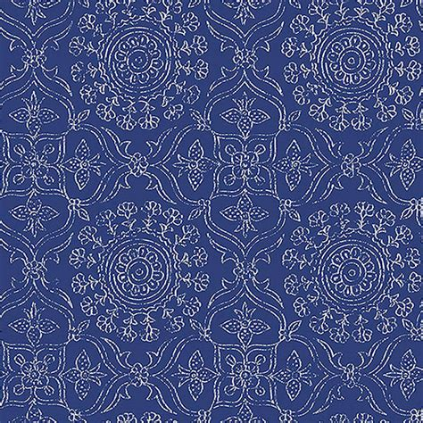 nuwallpaper blue byzantine peel and stick wallpaper sle byzantine peel and stick wallpaper by nuwallpaper