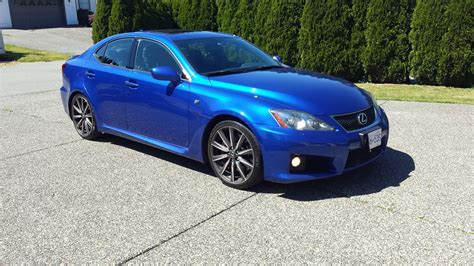 isf lexus blue can vancouver 2009 lexus is f ultrasonic blue 53k