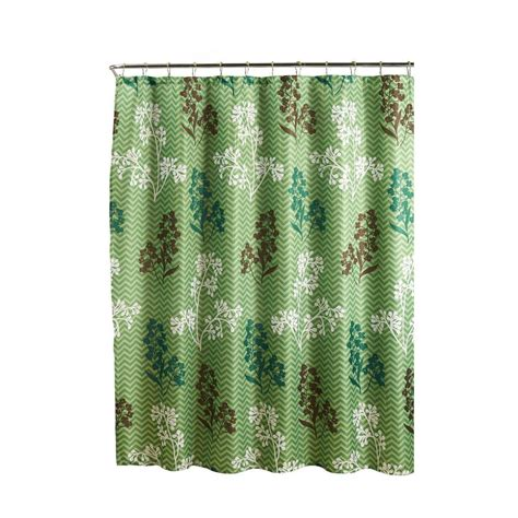 Roller Shower Curtain Rings Ideas Creative Home Ideas Weave Textured 70 In W X 72