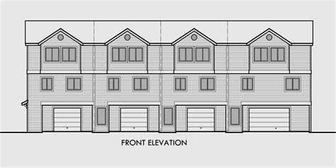 4 plex house plans house plan 2017