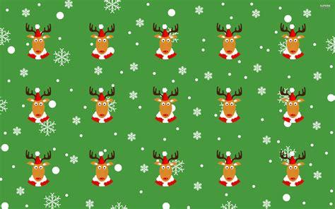 deer pattern iphone wallpaper reindeer pattern wallpaper