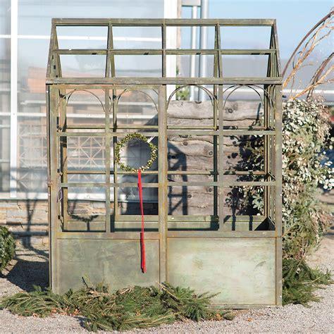 decorative iron greenhouse terrain