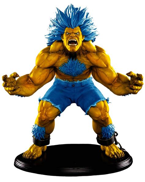 street fighter player  exclusive blanka  scale
