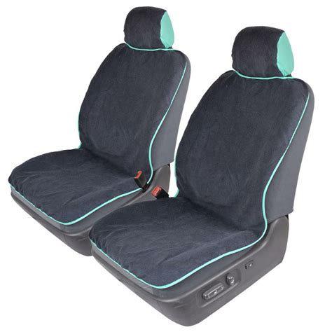 set of 2 sweat towel auto seat covers for car sport