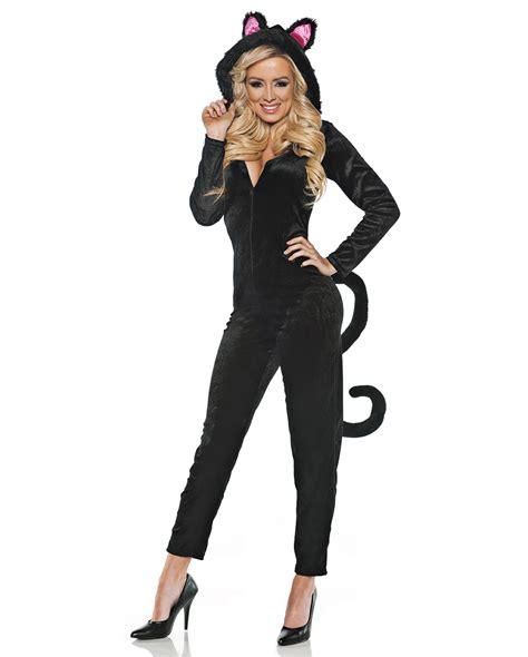 Jumpsuit Cat by Black Cat Costume Jumpsuit For Carnival Horror Shop