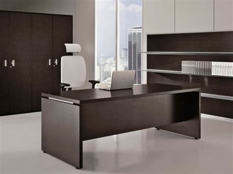 spectacular modern executive office desk on interior
