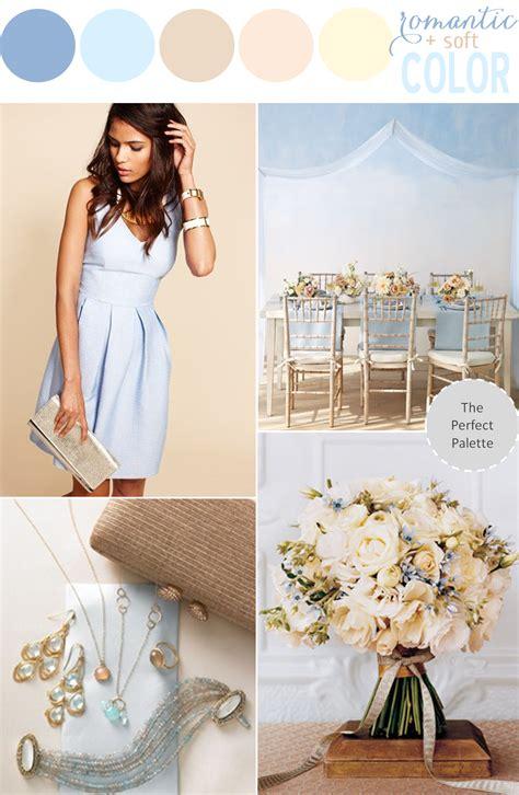 romantic color schemes color story romantic soft color the perfect palette