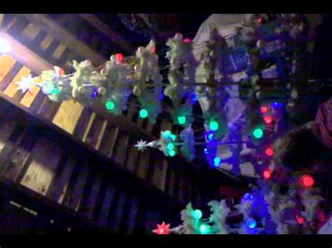gemmy light show musical christmas trees white youtube