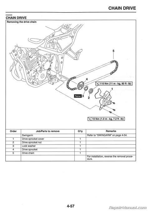 2008-2012 Yamaha XT250 Motorcycle Service Manual