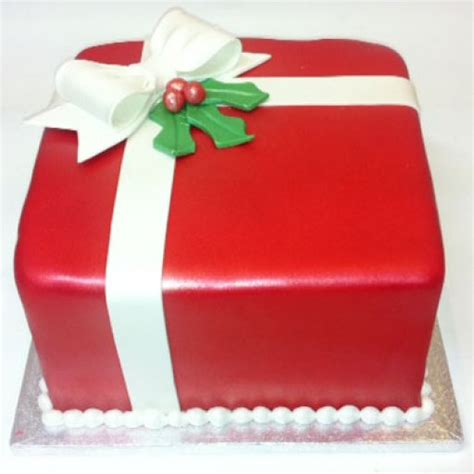 christmas gift box fondant cake cake fondant gift box philadelphia present cakes for delivery philly