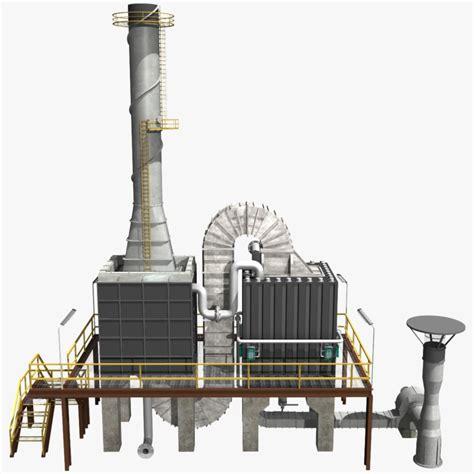 Furnace 3d Model 3d model crude furnace