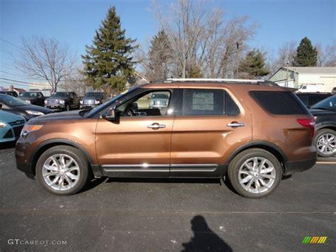2012 golden bronze metallic ford explorer limited 59415322 photo 2 gtcarlot car color