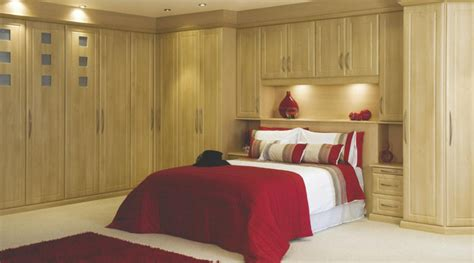 contemporary beech modular bedroom furniture system