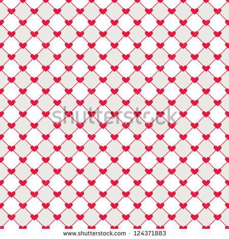 heart pattern repeat seamless geometric pattern with hearts vector repeating