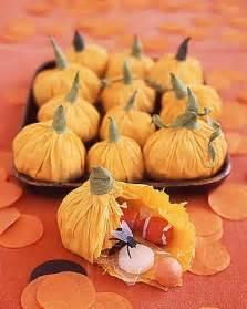 Pumpkin Favors by Handmade Paper Pumpkin Favors 187 I Farm Weddings