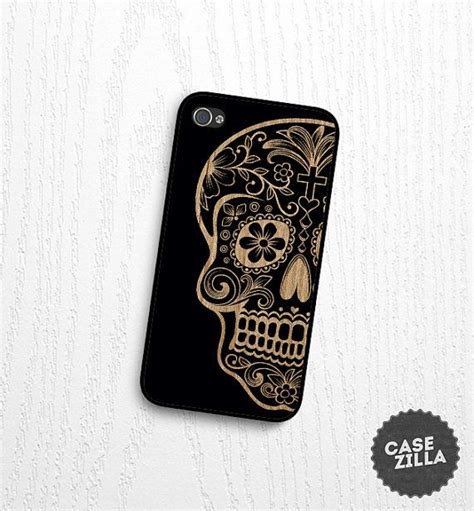 For Iphone 5c 5 C Casing Gheto Skull Print 2 iphone 5 sugar skull wood print iphone 5s iphone 4 4s