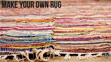 How To Make Own Rug by Diy Large Area Rug Knock It The Live Well Network