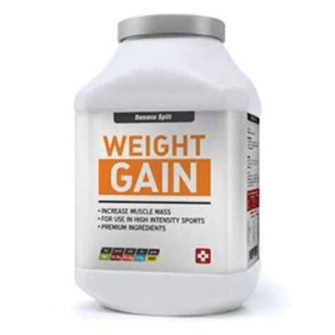 a supplement to gain weight weight gain supplements