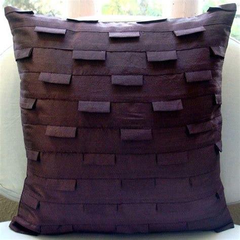 plum sofa throws plum ocean pillow sham covers 24x24 inches silk pillow