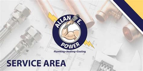 Power Plumbing Lagrange by Our Service Areas Allan E Power Plumbing Heating Cooling