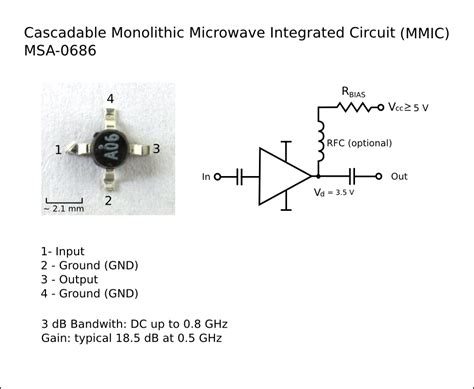 what is monolithic microwave integrated circuits file monolithic microwave integrated circuit msa0686 fixed png wikimedia commons