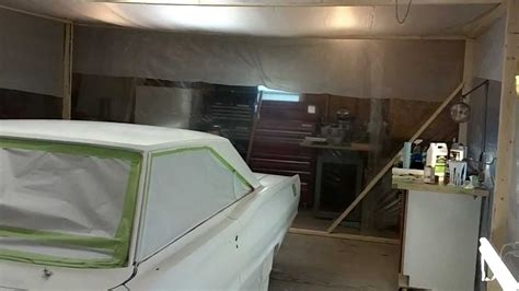 how to build a paint booth for your car