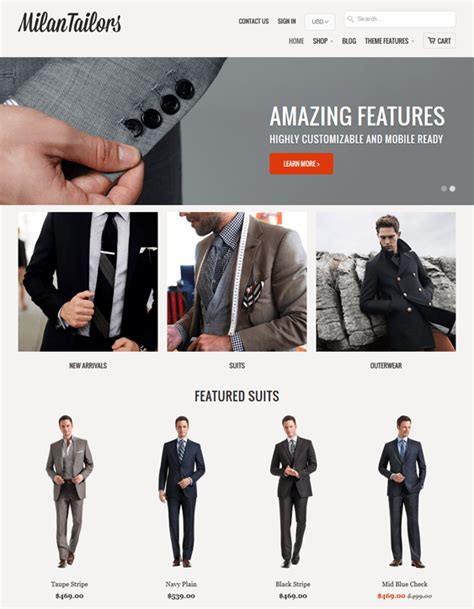 shopify themes mobilia 28 of the best shopify themes for clothing stores down