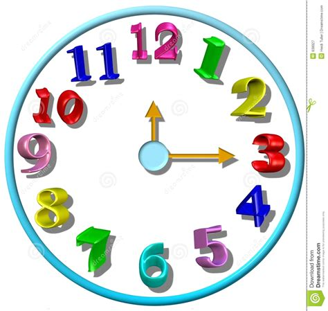 clipart orologio colorful clock clipart www imgkid the image kid