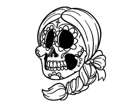calaveras mexicanas para pintar calaveras mexicanas mujeres para dibujar imagui