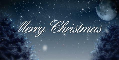 merry christmas snowy winter night  amarufilm videohive