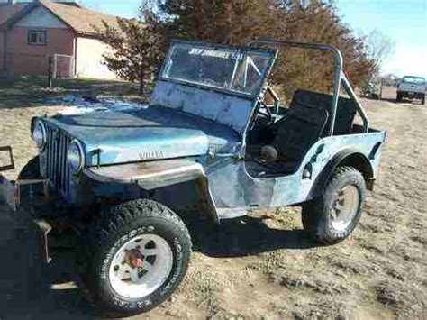 1947 willys jeep parts find used 1947 willys jeep cj2a runs great with fact back