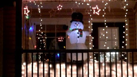 christmas lights on balcony youtube