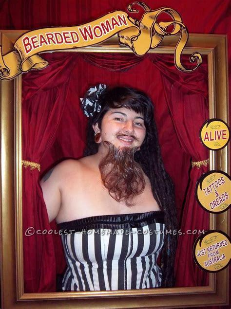 bearded circus cool bearded costume circus sideshow performer