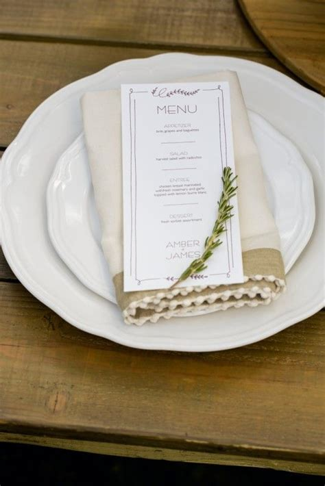 menu place cards template the world s catalog of ideas