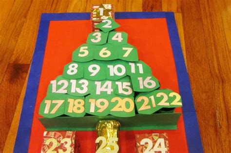 christmas countdown craft countdown calendar