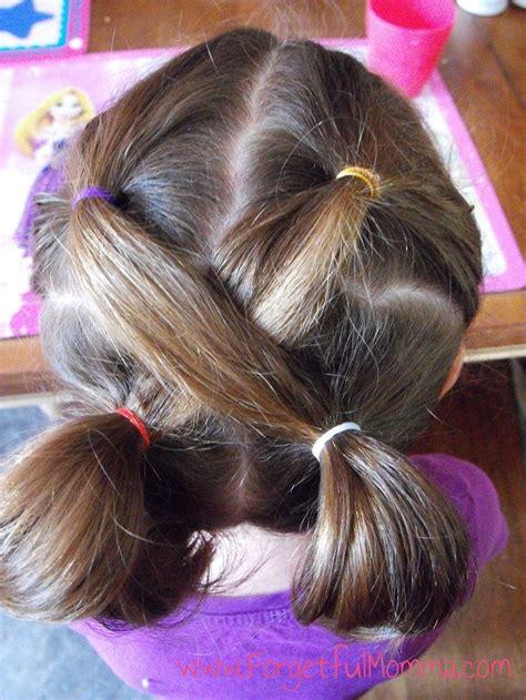 easy  girl hairstyles ideas  pinterest