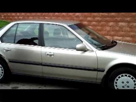 how to work on cars 1991 honda accord seat position control 1991 honda accord lx sedan for sale at honda cars of bellevue omaha s honda giant youtube