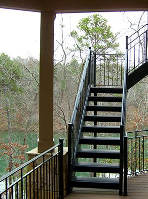 exterior stairs outdoor stairs heirloom stair iron