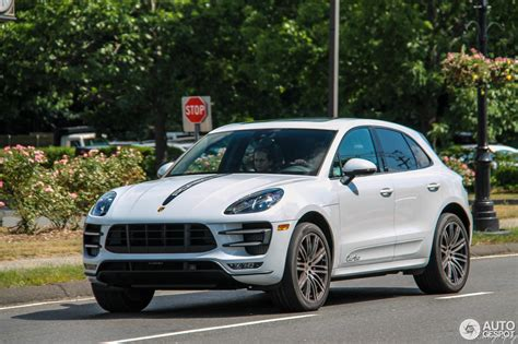 porsche macan turbo 2016 porsche 95b macan turbo 1 july 2016 autogespot