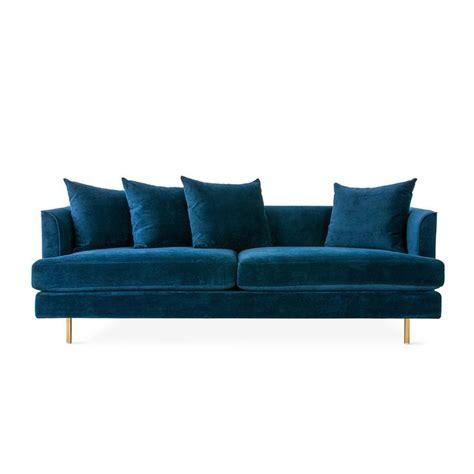 Midnight Blue Velvet Sofa by 17 Best Ideas About Velvet Sofa On Velvet