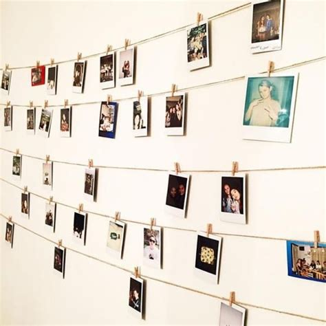 how to hang polaroid lights best 25 hanging polaroids ideas on home style bedroom inspo and polaroid pictures