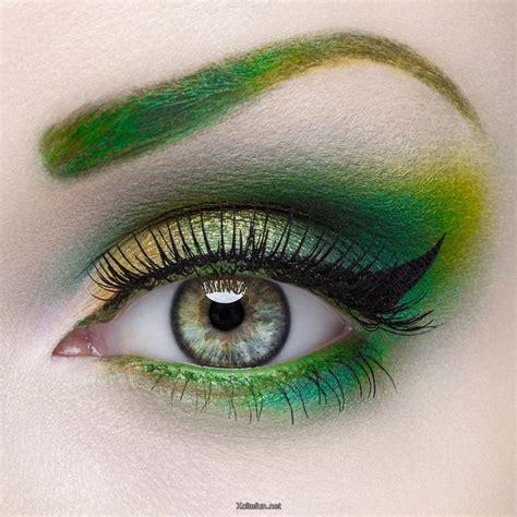 Eyeshadow Green green smokey and shimmery eye makeup xcitefun net