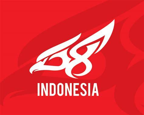 Kaos Indonesia Garuda Hut Ri logo hut ri ke 68 unofficial belajar desain