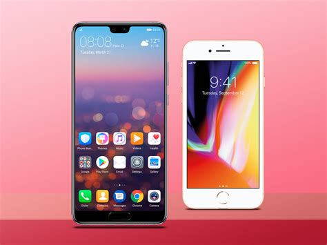 huawei p20 vs apple iphone 8 which is best stuff