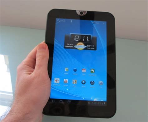 android tablet reviews toshiba thrive 7 inch android tablet review liliputing