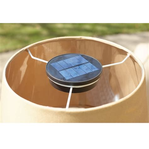 solar powered table l solar patio table ls modern patio outdoor