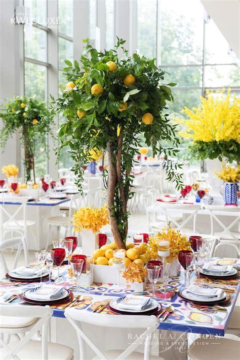 searched  lemon wedding decor toronto rachel