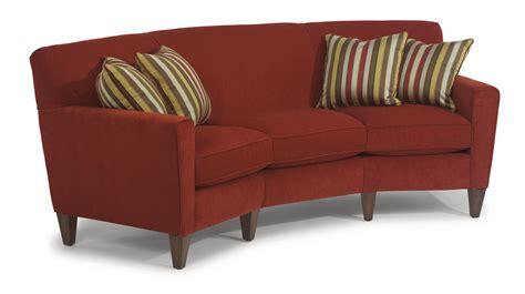 flexsteel digby contemporary conversation sofa olinde s
