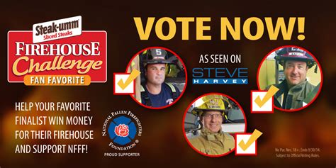 Whats Happening With Vote In The Poll by Vote For Your Favorite Firehouse Challenge Finalist S