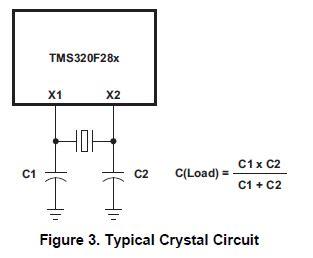 oscillator layout guidelines tms320f28069 internal vs external oscillator c2000 32